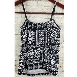 3 for 15🎈French laundry Tank Top Black White XL